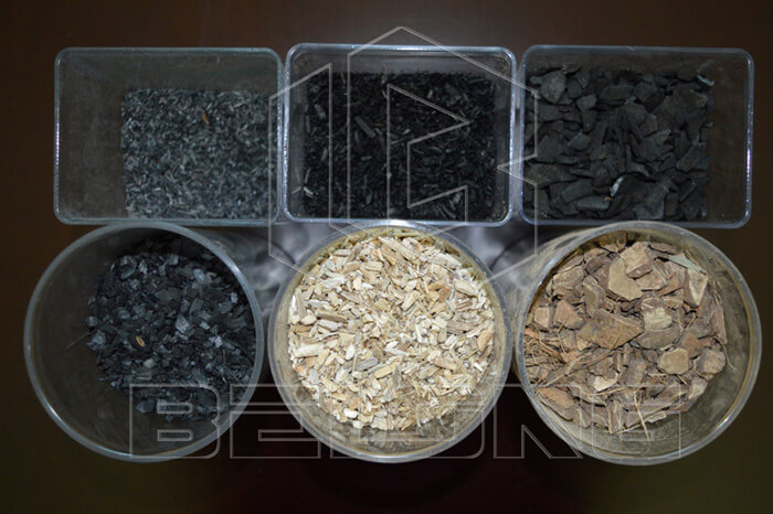 materials for continuous carbonizing