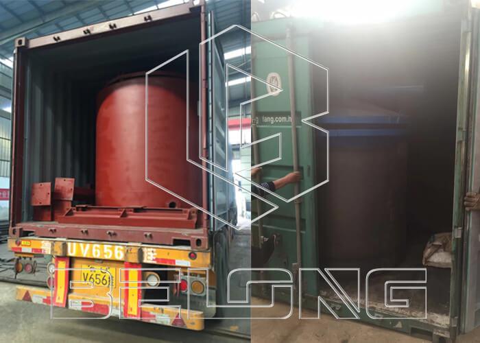 Carbonization furnace shipping