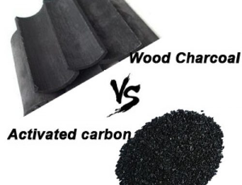 Differences between wood charcoal and activated carbon