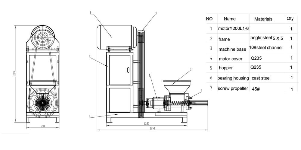 design-drawing-of-wood-briquette-machine