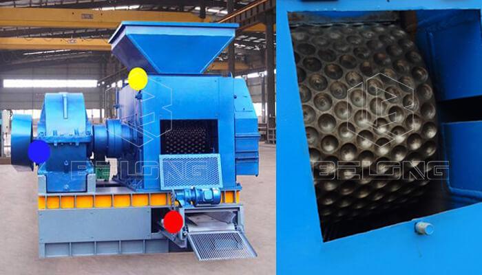 9Cr2Mo press roller of briquette machine