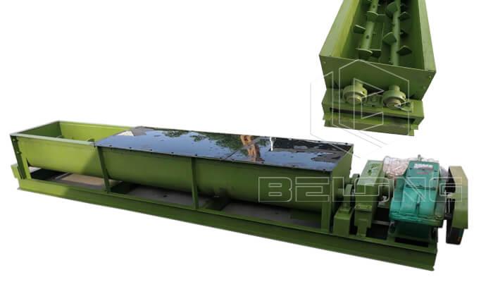 Double-shaft-coal-mixer