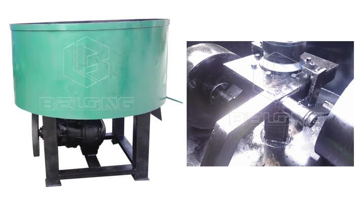 Wheel-grinding-charcoal-mixer