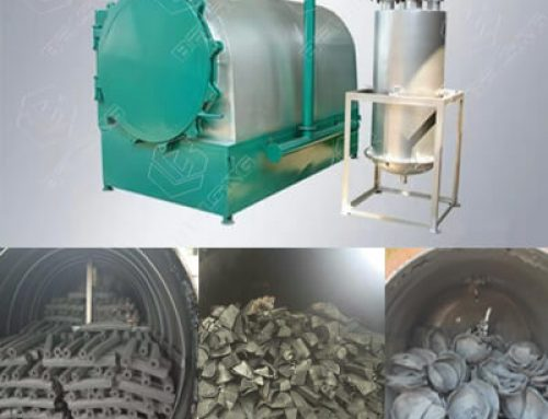 Horizontal Airflow Carbonization Furnace