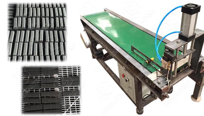 charcoal briquette automatic cutter