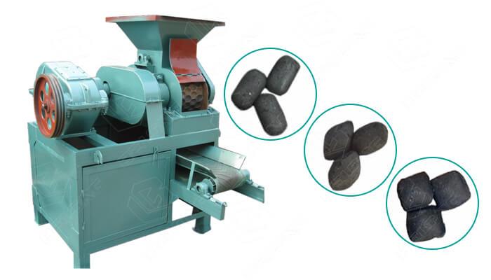 pillow charcoal press machine
